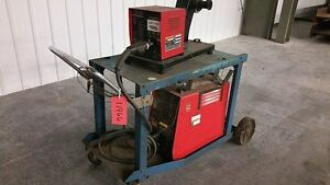 11966 Lincoln Invertec Stt Welder With Lincoln Ln 742 Feeder