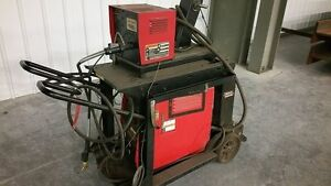 11965 Lincoln Invertec Stt Welder With Lincoln Ln 742h Feeder