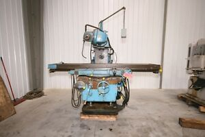 12130 Kearney Trecker Model 430tf 17 Horizontal Mill 80 X 17 Table