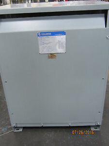 Reconditioned 75 Kva 480 Primary 208y 120 Secondary Challenger Transformer