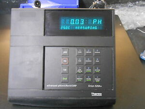 Thermo Orion 520a Advanced Ph mv rmv orp Meter Act 917005 Probe