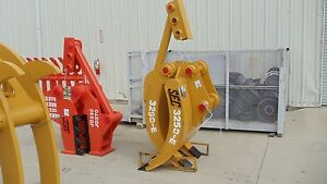 Sec Excavator Demolition Grapple To Fit A 25 Ton Cat325 Jd230 Zx270 And More