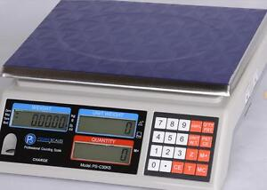 Prime Scales Ps c30ks Portable Counting Scale 66 Lb X 0 002 Lb Ac Adapter