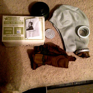 Gas Mask Best Fit nbc All Sizes