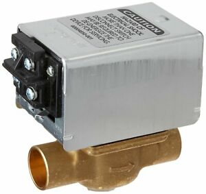 Honeywell V8043f1036 3 4 inch Sweat Zone Valve With Screw Terminals And End Swit