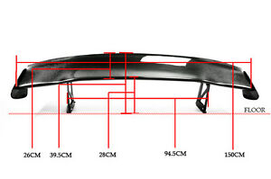 For Honda S2000 Spoon Racing Drift Carbon Fiber Rear Gt Spoiler Wing Sets