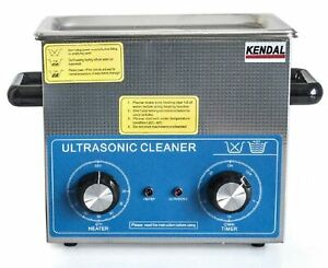 Brand New Kendal Commercial Grade 220 Watts 3 Liters Ultrasonic Cleaner Hb 23mht