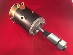 Starter Ford Farm Tractor 2n 8n 9n 28 30hp 4cyl 1939 1952 With Drive Bendix New