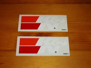 Two K N Stickers Decals In White Nascar Performance Air Filters Racing Oem