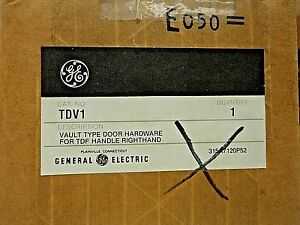 Ge Industrial Tdv1 Vault Type Door Hardware For Tdf Handle Righthand New In Box