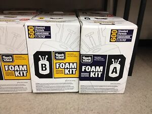 Touch n Seal U2 600 Spray Closed Cell Foam Insulation Kit 600bf