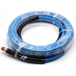 A 8 921 150 0 50 Ft 3 8 Blue Non marking 4000psi Pressure Washer Hose