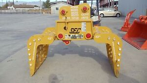 Sec Excavator Skeleton Grapple To Fit 20t cat320 Pc200 Zx200 And More