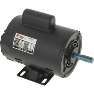 G2902 Grizzly Motor 1 2 Hp Single phase 3450 Rpm Open 110v 220v