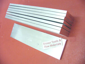 10 Pieces 3 8 x 2 Aluminum Flat Bar 10 Long 6061 T6 Solid Plate Mill Stock