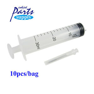 10pcs Plastic Injector Printer Syringe For Filling Ink In Roland mimaki mutoh