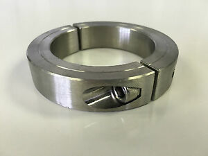 1pc 1 5 8 Inch Stainless Steel Double Split Shaft Collar 2ssc 162