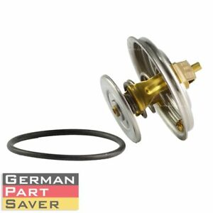 Engine Coolant Thermostat W Gasket For Mercedes Benz 190 280 300e 300te 450sel
