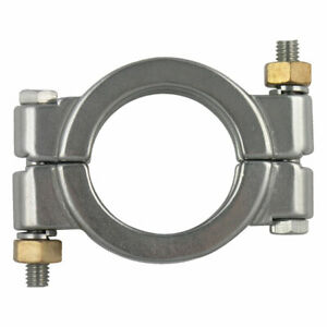High Pressure Bolted Sanitary Clamp 304 Stainless Steel 4