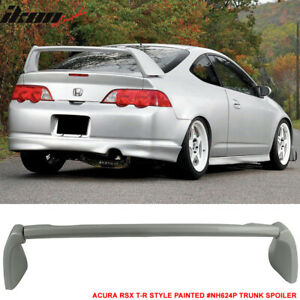 02 06 Rsx Dc5 Type R Tr Style Trunk Spoiler Painted Premium White Pearl Nh624p