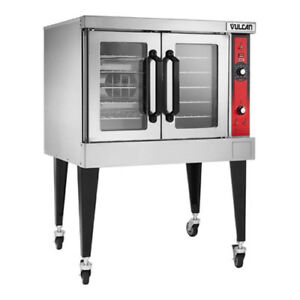 Vulcan Vc4ed Single Deck Electric Convection Oven Solid State Controls