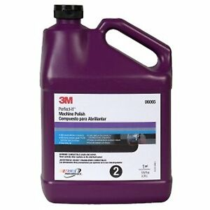3m 06065 Perfect it Machine Polish 1 Gallon