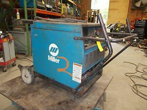 Miller Deltaweld 302 Welder Power Supply Mig Flux Subarc