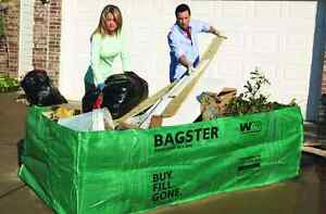 Bagster Dumpster Trash Bag Waste Removal Garbage Disposable 606 gallon Capacity