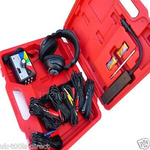 Car Electronic Stethoscope Kit Auto Mechanic Noise Diagnostic Tool Six Channel