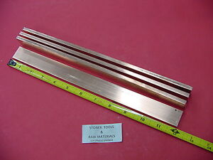 4 Pieces 1 4 x 1 C110 Copper Bar 12 Long Solid Flat Bar Mill Bus Bar Stock H02