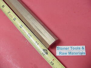 1 1 16 C360 Brass Hex Bar 12 Long New Lathe Bar Stock 1 062 Flat To Flat