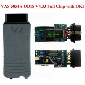 Vas 5054a Odis V4 33 Full Chip With Oki Bluetooth Code Scanner Diagnostic Tool