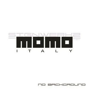 Momo Italy Decals Stickers Racing Toyota Audi Subaru Honda Ford Jdm 2 Pair