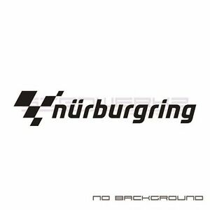 Nurburgring Racing Decals Stickers Checker Racing Euro Porsche Mercedes Audi Pai