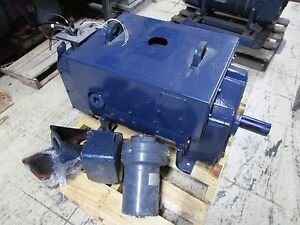 Ge Kinamatic Dc Motor W Blower Cd409at 100hp 2500 2900rpm 500v Refurbushed