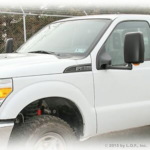 03 07 Towing Pick Up Both Power Black Turn Signal Heat Side Extended 24 Mirrors