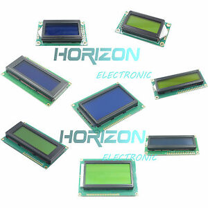 Character Lcd Display Module Lcm Blue Blacklight 0802 1602 2004 12864