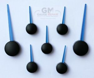 Custom Blue Speedometer Gauge Needle Pointer Set For 2003 2006 Gm Truck Suv S