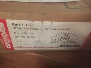 box Of 150 H 2 Creform Metal Joint Component For 28mm Pipe new