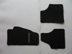 08 09 10 11 12 Jeep Liberty Black Carpet Floor Mats Rugs Liners Oem Genuine Used