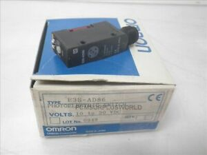 E3s ad86 Omron Photoelectric Switch 10 To 30 Vdc new In Box