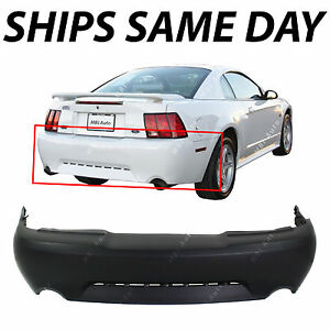 New Primered Rear Bumper Cover For 1999 2004 Ford Mustang Gt Mach 1 99 04