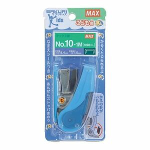 Max Japan Sakuri Kid s Stapler Hd 10nlck Blue