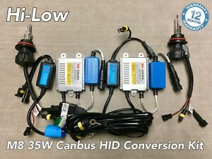 Hi low Beam 9007 Hb5 35w Canbus M81 No Error Slim Bi xenon Hid Kit For Ford A