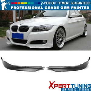 Fit 09 11 3 Series E90 Lci Oe Style Painted Front Splitter Lip Oem Painted Color