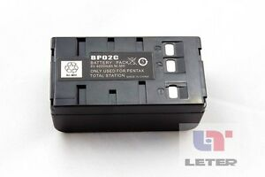 2pcs Original New Pentax Bp02c Battery For Pentax Total Station