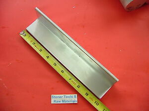 2 x 2 x 1 8 Aluminum 6061 Angle Bar 10 Long T6 Extruded Standard Mill Stock