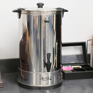 Avantco 110 Cup 3 Gallons Stainless Steel Commercial Shop Brewer Coffee Tea Urn
