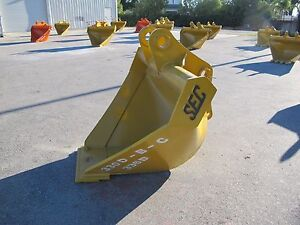 Sec Excavator Trapezoidal Ditching Bucket To Fit 30 Ton cat330 Zx330 Pc300