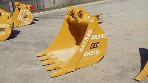 Sec Excavator Digging Bucket To Fit 20t cat320 zx200 pc200 sk200 And More